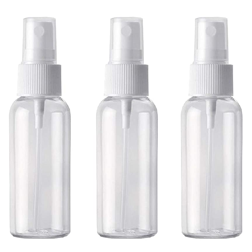 レプリカ特徴人柄PET小分けボトル トラベルボトル スプレーボトル 3本セット 霧吹き 小分け容器 化粧水 (50ml )