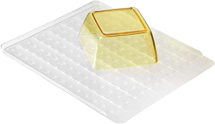 InterDesign 37900ES Basic Basic Dish Drainer Tray Draining Board Mat