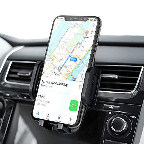 Mpow Handyhalterung Auto Handyhalter fürs Auto Lüftung Universale Handy KFZ Halterungen Phone Halter 360 Drehbar Luftauslass KFZ Handy für iPhone11 Pro/Xs Max/X/8,Google,GalaxyS9+ & allen Smartphones