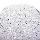 30000 Clear Water Gel Jelly Beads Vase Filler Beads,Vase Fillers for Floating Pearls, Floating Candle Making, Wedding Centerpiece, Floral Arrangement (Transparent)