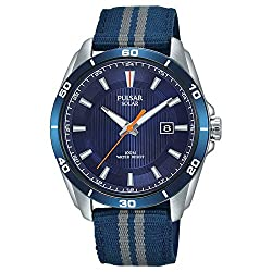 Stainless Steel Case & Leather Strap with Traditional Buckle Solar Powered - Powered by Natural or Artificial Light, Never Needs a Battery Calendar - Date 100m Water Resistant - Suitable to Jump in to a Swimming Pool Diameter 40mm, Depth 11mm