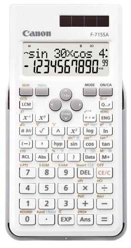 キヤノン関数電卓2行表示モデルF-715SA