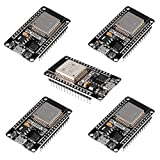 DORHEA 5PCS ESP32 ESP-32S WiFi Development Board NodeMCU-32S Microcontroller Processor Integrated Chip CP2102