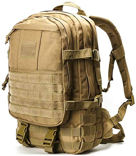 Mochilas al aire libre montañismo bolsa ejército ventilador unidad táctica de asalto bolsa impermeable al aire libre montañismo senderismo mochila 35L