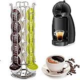 MovilCom@ Soporte para capsulas Dolce Gusto | Dispensador capsulas Cafe | Portacapsulas para Dolce Gusto Capacidad 24 uds