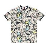 Peanuts Damen Women's Nightgown Nachthemd, Crowd, X-Large (6er Pack)