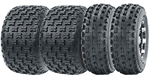 Full Set Wanda Sport ATV tires 21x7-10 21x7x10 & 20x10-9 20x10x9  4PR