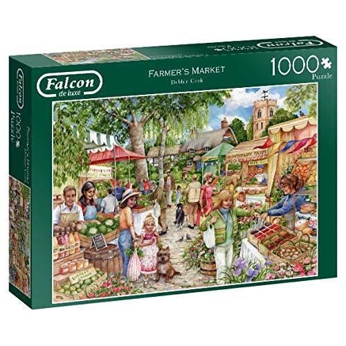 Falcon de luxe 11244 Farmer's Market Puzzel 1000 delen