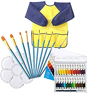 Kids Art Set, 24 piece Water Color Paint Set for Kids,Art Supplies for Drawing, Painting
