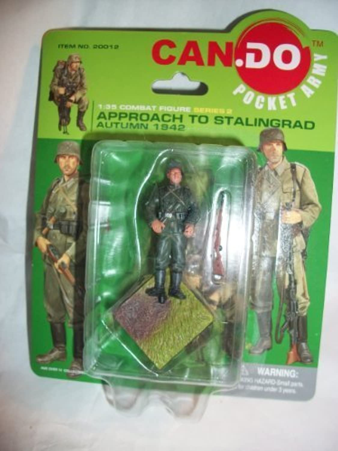 Can Do Pocket Army Approach to Stalingrad Figure C by Can Do Army