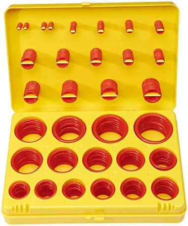 BUSY CORNER 382pcs Silicone O Ring Kit AS568 USA Standard 30 Sizes Sealing Gasket Washer Assortment product image