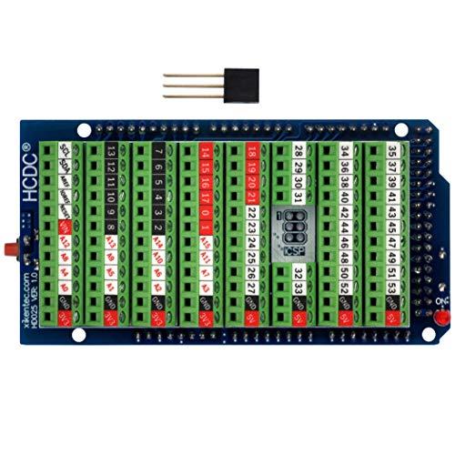Módulo de escudo de ruptura de bloque de terminales de tornillo para Arduino MEGA-2560 R3