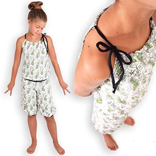 leni pepunkt Schnittmuster Jumpsuit Kinder mit Nähanleitung in den Größen 50/56-158/164 - zum selbst Nähen mit 5 Webetiketten