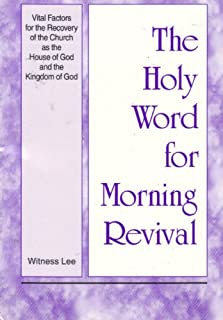 Best holy word for morning revival online Reviews