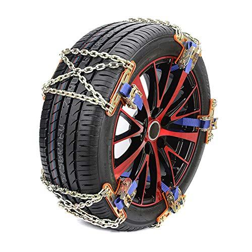 Speaklaus Cadenas antideslizantes para neumáticos de coche, camión, SUV, invierno universal ICES Breaker Outdoor