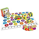 Learning Resources Math Marks The Spot Floor Game, Homeschool, Number Recognition, Addition & Subtraction, Ages 5+