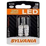 SYLVANIA ZEVO 168 T10 W5W White LED Bulb, (Contains 2 bulbs)