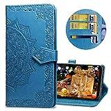 MRSTER Samsung J4 Core Leather Case, Slim Premium PU Flip
