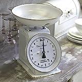 Bilancia da cucina FRANSKE bianco shabby chic bilancia xperiz bilancia in stile rustico