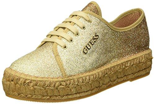 Guess Damen Glitter Fabric High-Top, Gold (Cogna), 41 EU