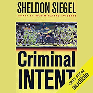 Criminal Intent audiobook cover art