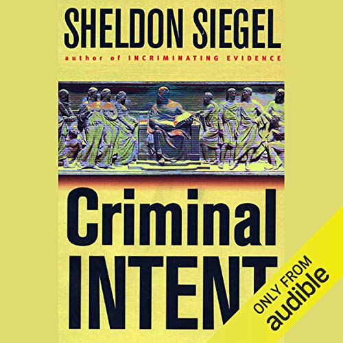 Couverture de Criminal Intent