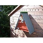barn owl nest box (Cedar Red)