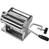 Habi Classic 150 - Máquina para Hacer Pasta en casa, de Acero Cromado, Plateada