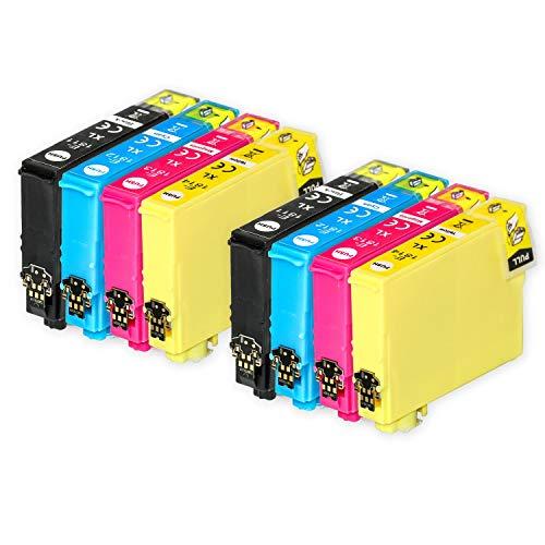 Go Inks Compatible Cartuchos de Tinta para reemplazar Epson 18 & 18XL Serie Non-OEM *Nueva Versi�n* (8 Tintas)