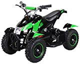 Mini Eléctrico Niños ATV Cobra 800 Vatios Pocket Quad - Green