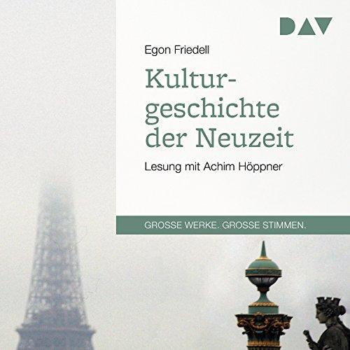 Kulturgeschichte der Neuzeit audiobook cover art