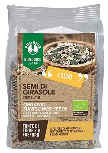 Probios Semi di Girasole Bio Senza Glutine - Confezione da 6 x 300 g