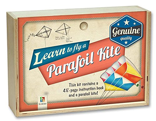 Retro Wooden Box: Parafoil Kite
