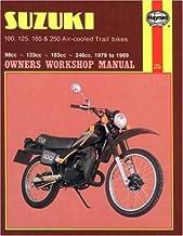 Suzuki 100, 125, 185 & 250 Air-Cooled Trail Bikes (79 - 89)