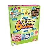 Junior Learning- 6 Juegos de Crecimiento Personal, Multicolor...