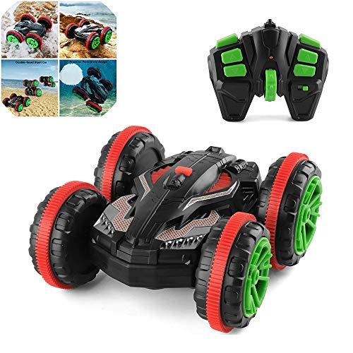 ZMH 1:18 RC Stunt Car 360 Drehen Fernbedienung Auto Fahren Auf Wasser Und Land Amphibious Electric Toys Kinder Kinder