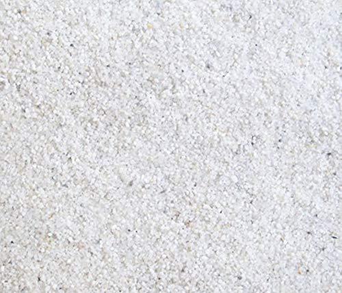 ORBIT 15 Kg Quarzsand weiß Sand fein Premium Qualität 0,5-1,0mm Bodengrund Aquarium Sand Pflanzen Süßwasser Meerwasser