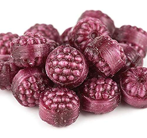 Red Raspberries, Filled Hard Candy, 2 Lbs.