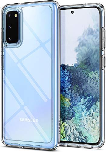 Spigen Cover Ultra Hybrid Compatibile con Samsung Galaxy S20 - Crystal Clear