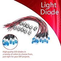 発光ダイオード、LEDダイオード、車の装飾用懐中電灯の長寿命(Blue(#3))