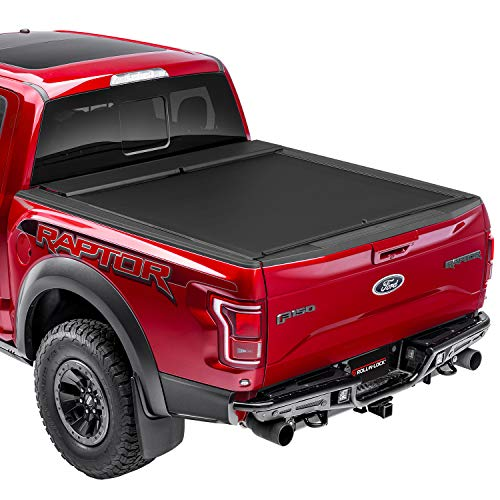 "Roll-N-Lock M-Series Retractable Truck Bed Tonneau Cover | LG807M | Fits 2005-2020 Nissan Frontier 4' 11"" Bed (58.6"")"