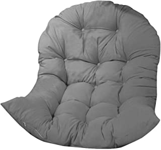 Cojín de asiento de cesta colgante oscilante,35.43x47.24 pulgadas Cojín de silla de hamaca colgante de huevo engrosado Cojín de silla colgante suave,Silla de huevo colgante,Asiento de cesta colgante