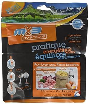 MX3 Adventure Repas lyophilisé pâtes à la carbonara