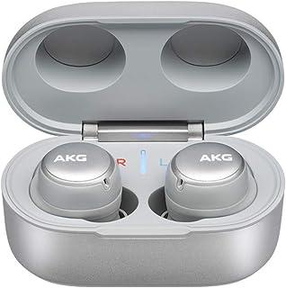 AKG N400 - Auriculares inalámbricos Bluetooth tipo ANC, Plateado