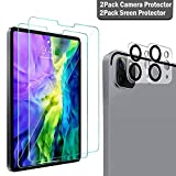 QHOHQ 2 Pack Screen Protector for iPad Pro 11 2020 (2nd Gen) with...