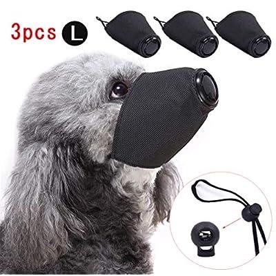 Linkinghome Dog Protective Muzzle, Adjustable P...