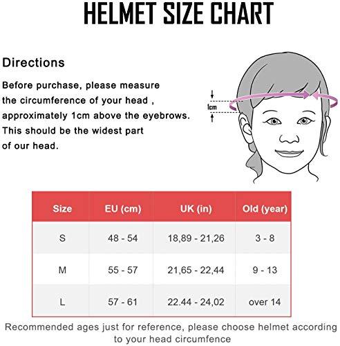 XJD Kinder Helm Skaterhelm Fahrradhelm Verstellbar CE-Zertifizierung Kinderhelm mit Luftlöcher für Fahrrad Motorrad Skateboard Schifahren 3-13 Jahres Kinder Junge Mädchen - 3