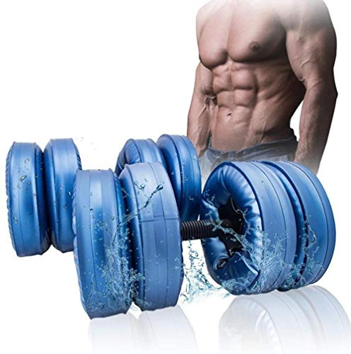 Ein Paar neue flexible Wasser Hantel Heavey Gewicht Hantel Gym Heimtrainingsgerät schwarz for Bodybuilding (Farbe: Blau, Größe: 20-25KG paar Hanteln), Größe Name: 15-20KG Paar Kurzhanteln, Farbe Name: