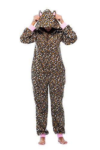 Just Love Adult Onesie with Animal Prints Pajamas 6453-10216-L