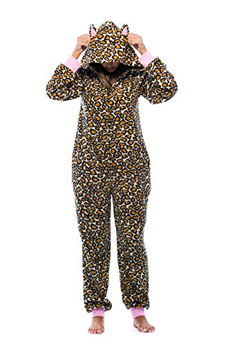 Just Love Adult Onesie with Animal Prints Pajamas 6453-10216-M